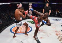 bellator 155 melvin manhoef vs rafael carvalho