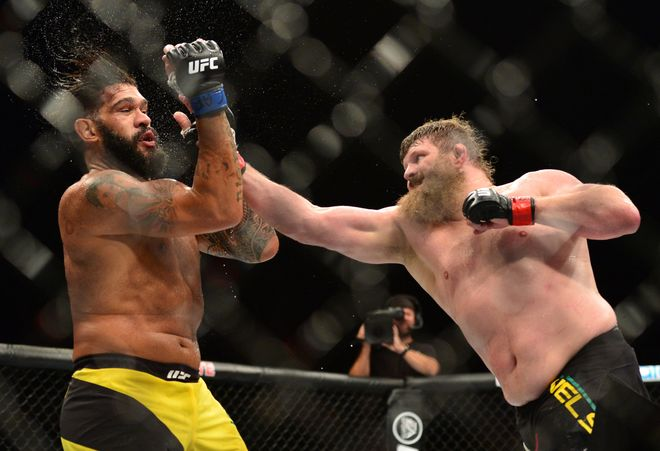ufc fight night 95 roy nelson bigfoot silva antonio silva