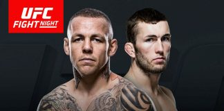 ross pearson stevie ray steven ray ufc fight night 99