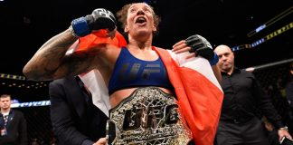UFC 208 Germaine de Randamie