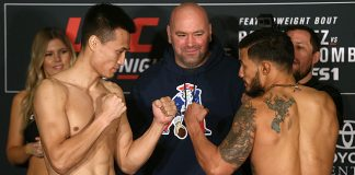 UFC Fight Night 104 Chan Sung Jung Dennis Bermudez