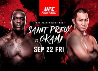 ufc fight night 117 ovince saint preux yushin okami
