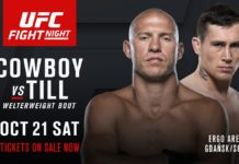 ufc fight night 118 donald cerrone darren till