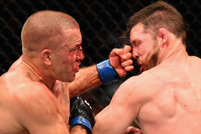 UFC 217 georges st-pierre michael bisping