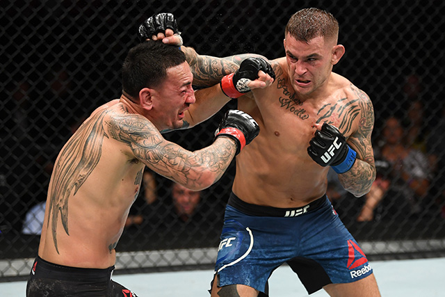 UFC 236 Dustin Poirier Max Holloway