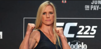 Holly Holm en UFC 225