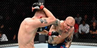 UFC Fight Night 153 Anthony Smith Alexander Gustafsson