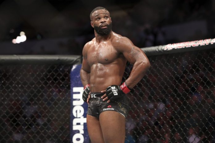 Tyron Woodley Gilbert Burns