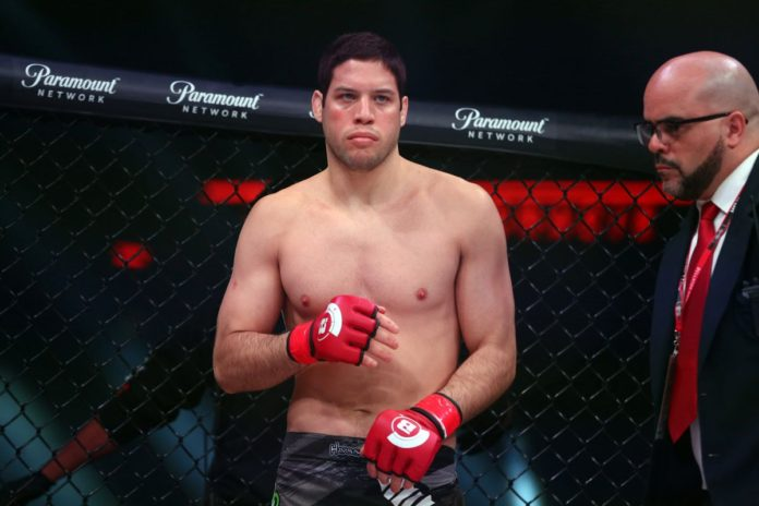 Neiman Gracie en Bellator 222, cortesía de USA Today