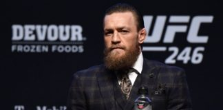 Conor McGregor conferencia de prensa