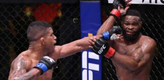 Gilbert Burns Tyron Woodley