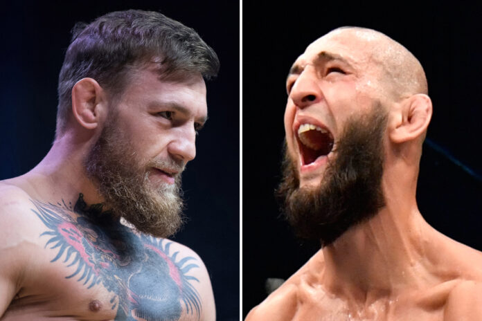 Khamzat Chimaev Conor McGregor
