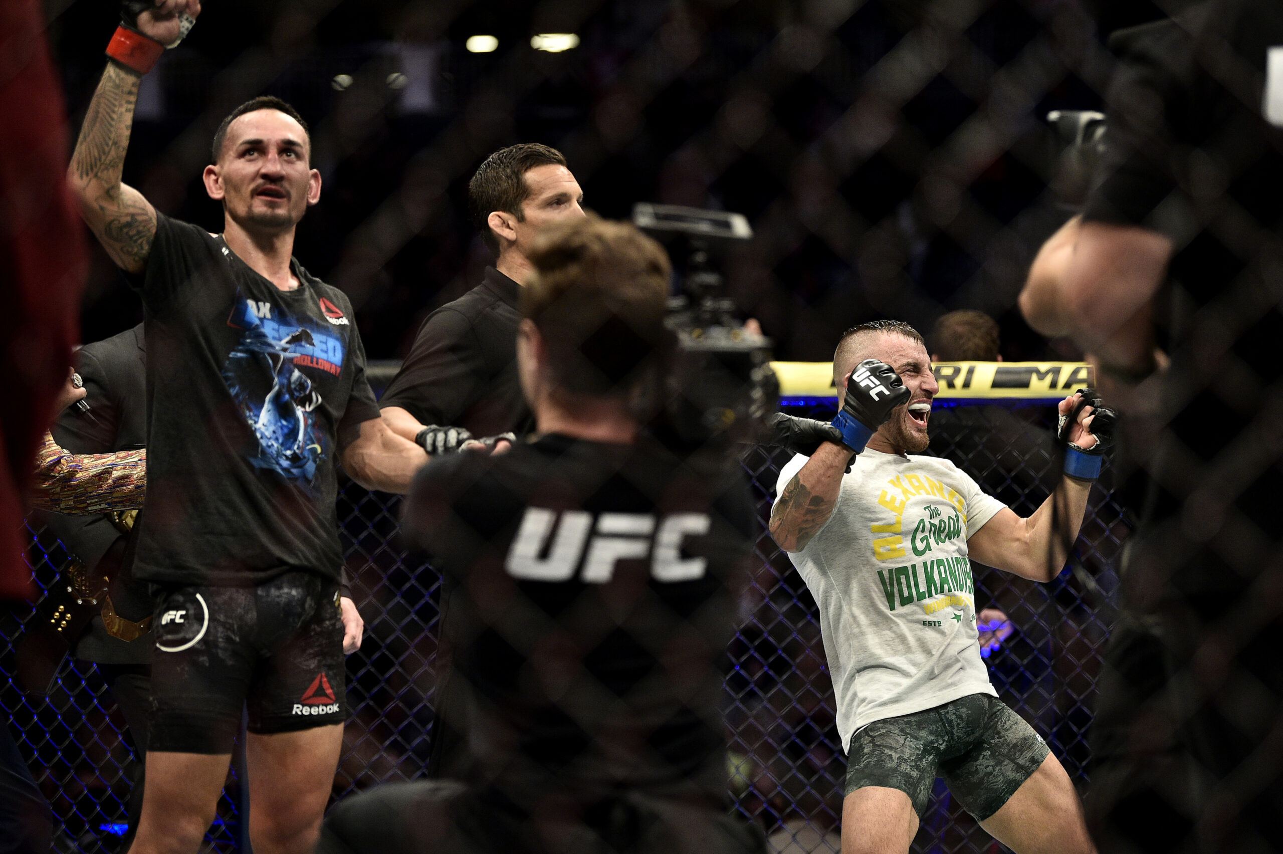 Max Holloway Alex Volkanovski