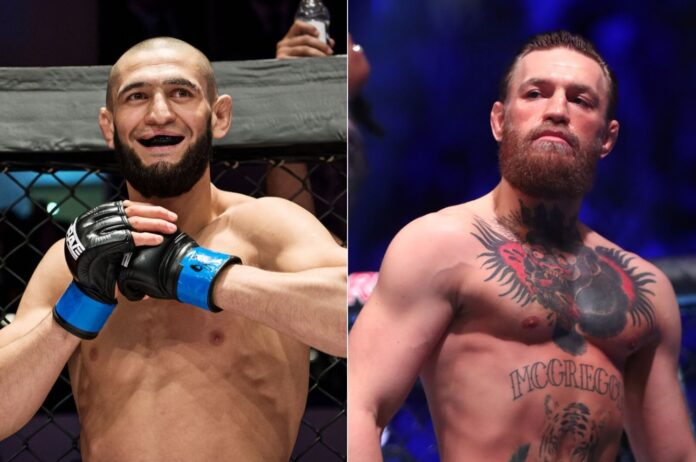 Conor McGregor Khamzat Chimaev