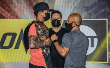 Adriano Moraes y Demetrious Johnson